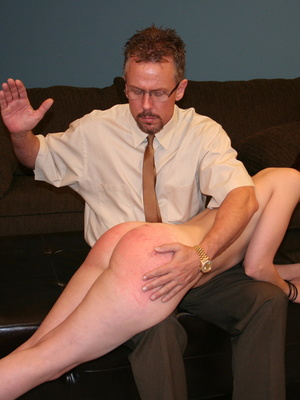 This horny redhead beauty gets her big ass spanked by daddy. - XXXonXXX - Pic 8