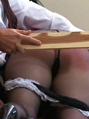 Horny black haired whore gets her tasty ass spanked by a horny guy. - XXXonXXX - Pic 11