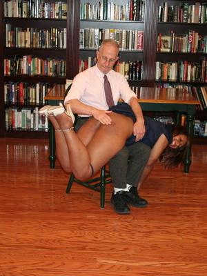 Randy brunette ebony teacher gets her lusciously big ass spanked by her boss. - XXXonXXX - Pic 13