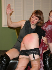 Gorgeous redhead gets her booty spanked by a randy - XXXonXXX - Pic 5