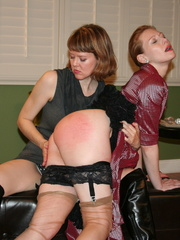 Gorgeous redhead gets her booty spanked by a randy - XXXonXXX - Pic 11