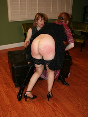 Gorgeous redhead gets her booty spanked by a randy - XXXonXXX - Pic 12