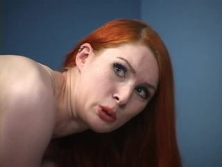 gorgeous redhead ass spanked