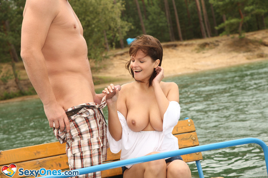 blowjob on a boat