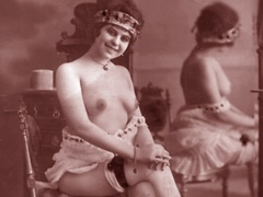 Very horny vintage naked french postcards - XXX Dessert - Picture 2