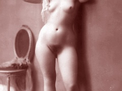 Very horny vintage naked french postcards - XXX Dessert - Picture 3