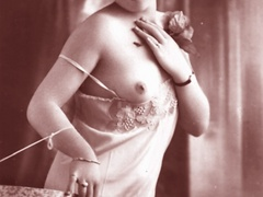 Very horny vintage naked french postcards - XXX Dessert - Picture 4