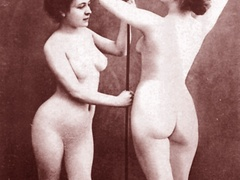 Very horny vintage naked french postcards - XXX Dessert - Picture 5