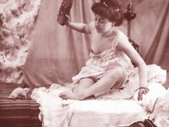 Very horny vintage naked french postcards - XXX Dessert - Picture 7