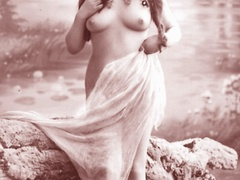 Very horny vintage naked french postcards - XXX Dessert - Picture 8