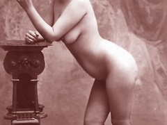 Very horny vintage naked french postcards - XXX Dessert - Picture 9