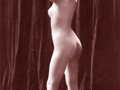 Very horny vintage naked french postcards - XXX Dessert - Picture 12
