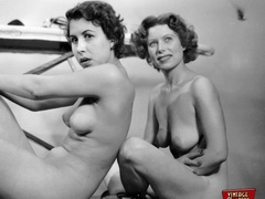 Hot vintage horny twosomes and threesomes - XXX Dessert - Picture 1