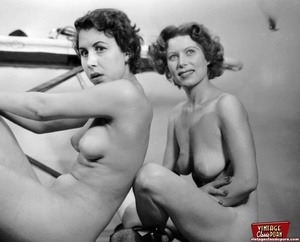Hot vintage horny twosomes and threesome - XXX Dessert - Picture 1