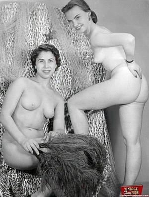 Hot vintage horny twosomes and threesome - XXX Dessert - Picture 4