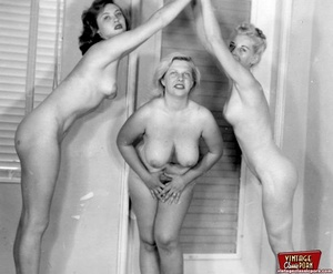 Hot vintage horny twosomes and threesome - XXX Dessert - Picture 8