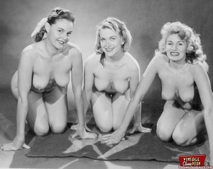 Hot vintage horny twosomes and threesome - XXX Dessert - Picture 9