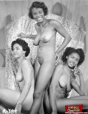 Hot vintage horny twosomes and threesome - XXX Dessert - Picture 10