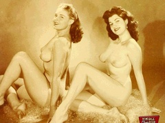 Hot vintage horny twosomes and threesomes - XXX Dessert - Picture 12