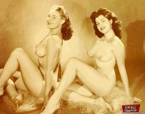 Hot vintage horny twosomes and threesome - XXX Dessert - Picture 12