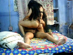 Big-titted Indian bitch with a hairy snatch adores riding cock - XXXonXXX - Pic 3