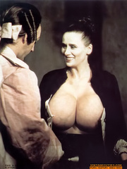 Big boobied vintage milf with enormous - XXX Dessert - Picture 2