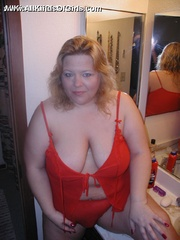 BBw blonde mom gets her pussy plowed in all possible - Picture 4