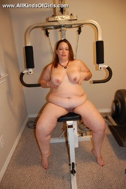 chubby lusty housewife playing