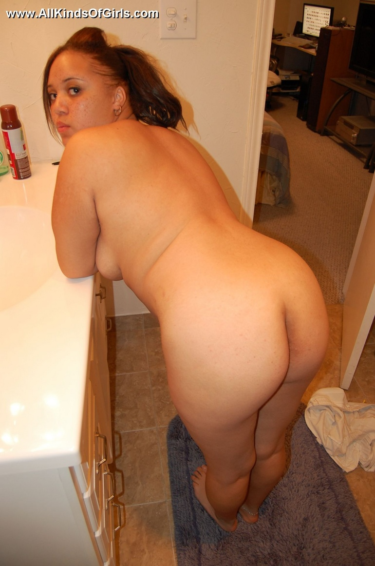 Amateur latina with big cucumber in her ass 5