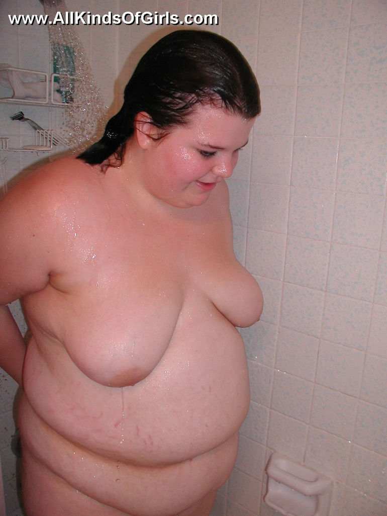 Sorry, bbw naked shower