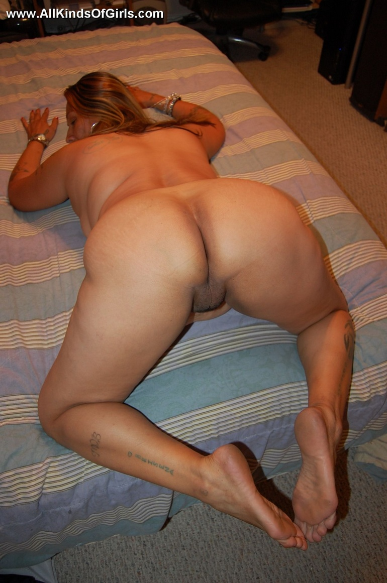 Thick mature naked ass would