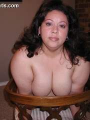 Slutty fat latina wife gets pounded from behind after - Picture 7