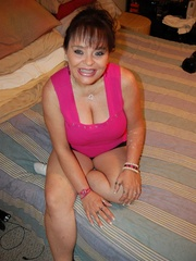 BBW latina granny Diana with epic boobs wanna be plowed - Picture 1