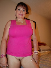 BBW latina granny Diana with epic boobs wanna be plowed - Picture 2
