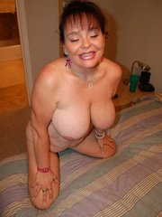 BBW latina granny Diana with epic boobs wanna be plowed - Picture 6