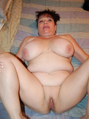 BBW latina granny Diana with epic boobs wanna be plowed - Picture 8