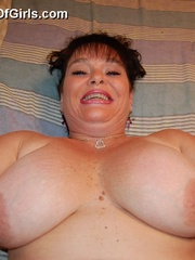 BBW latina granny Diana with epic boobs wanna be plowed - Picture 10