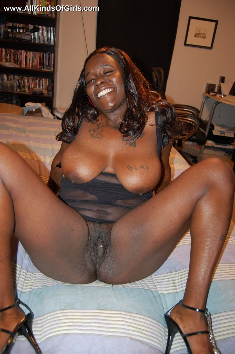 mature busty black woman