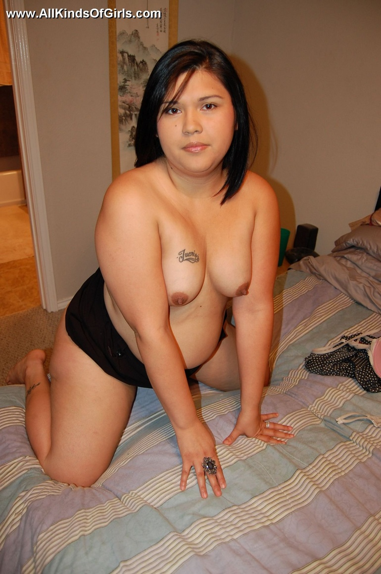spreading milf Filipina bbw
