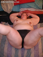Cute BBW student girl likes the feeling of hard cock - Picture 5