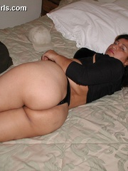 Busty chubby mexican mom Lupe is a real pro in cock - Picture 2