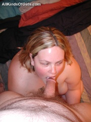 Cute BBW student girl likes the feeling of hard cock - Picture 10