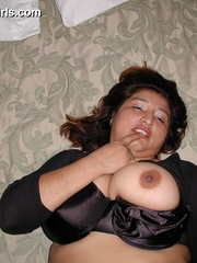 Busty chubby mexican mom Lupe is a real pro in cock - Picture 5