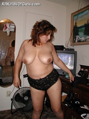 Busty chubby mexican mom Lupe is a real pro in cock - Picture 7