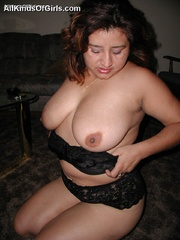 Busty chubby mexican mom Lupe is a real pro in cock - Picture 8