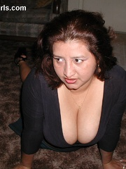 Busty chubby mexican mom Lupe is a real pro in cock - Picture 11