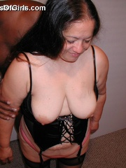 Mature mexican granny Sylvia loves being fucked by horny - Picture 8