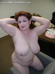 Sexy fat housewife Stephanie likes to take it doggy - Picture 12
