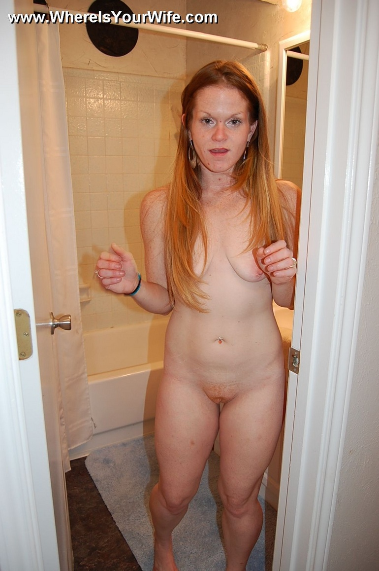 Red head wife nude