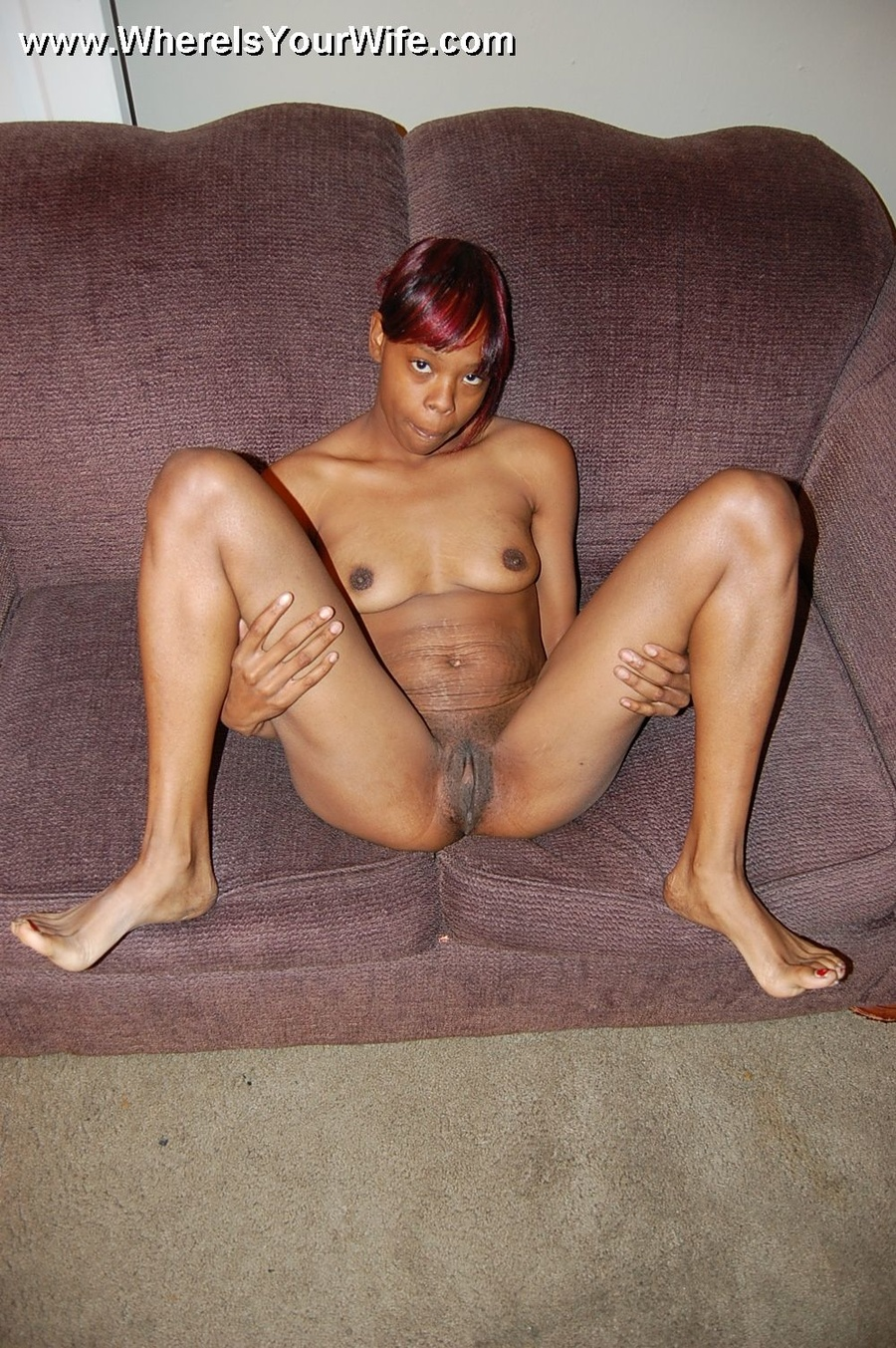 lactating spreading ebony  twat Nude